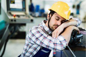 lack of sleep employee